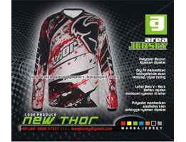 Jersey Sepeda Downhill, Mtb, Cross NEW THOR
