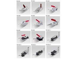 Jual RELUX Push Action Toggle Clamp