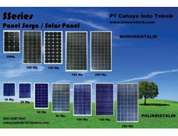 SSeries Solar Panel / Solar Cell / Panel Surya / Sel Surya Made in China