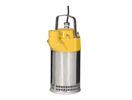 STOCK SUBMERSIBLE DRAINAGE PUMP, CAPACITY 4 L/ S, HEAD 15M, MODEL: P1001