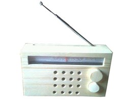 Jual Wooden Radio