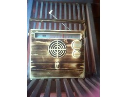Jual Wooden Radio With Drawer
