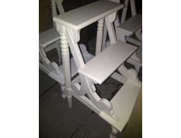 Jual Stair White Furniture Mahogany