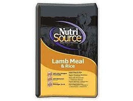 Dogfood Nutrisource Lamb Meal And Rice