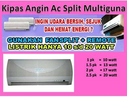 Jual Kipas Angin Ac Split Multiguna