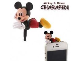 Jual Disney Mickey Mouse Charapin Earphone Jack Accessory