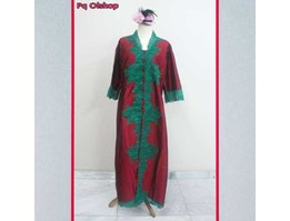 Kebaya Pesta Long dress Mewah Bahan Taffeta