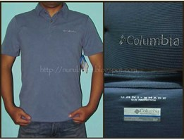 Kaos/ Sun Ridge Polo Shirt Columbia Omni Shade