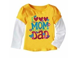 Jual Baby GAP I love mom and dad