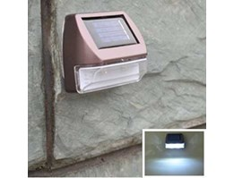 Jual Jual Solar power 2LED Fence Stairway Garden Path Wall light White
