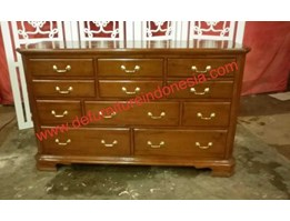 Jepara furniture DRESSER WITH MANY DRAWER Indonesia Furniture   Defurnitureindonesia DFRICnD - 70