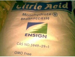 Jual Jual Citric Acid Mono / Anhydrate Ex. Weifang