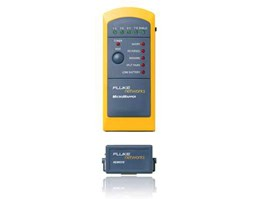 Fluke MicroMapper™ Simple verification tester verifies wiremap and identifies faults with LEDs.