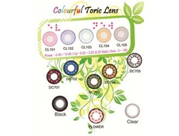 Jual Softlens toric full color 14mm