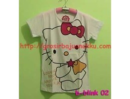 Jual Hello Kitty looking my ey white