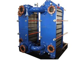 Plate Heat Exchanger, Double-Module for Non-Stop Operation 1