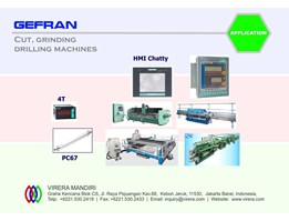 Jual APPLICATION - GEFRAN - Glass Working - Cut, Grinding, Drilling Machines