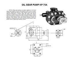 Jual OIL GEAR PUMP KP 75A
