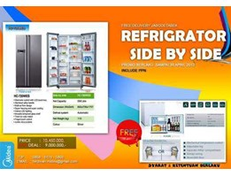 Jual REFRIGERATOR SIDE BY SIDE