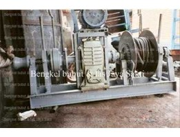 Winch Jangkar Electric Single Gipsy dan Single Drum