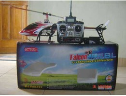 RC HELICOPTER FALCON 450 FBL 6CH 3D