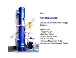 Jual Filter Air Rumah Tangga Type Purinex