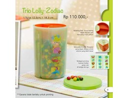 Jual TRIO LOLLY ZODIAC