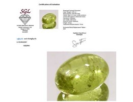 Jual Natural Yellowish Green Chrysoberyl