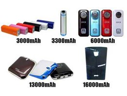 Powerbank SPC 6000mAh & 13000mAh Grs 1 th termasuk kabel & connector-REPLACE