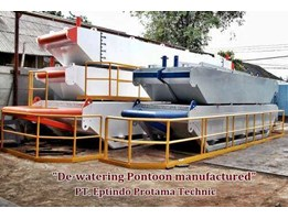 Jual Dewatering Pontoon Manufactured