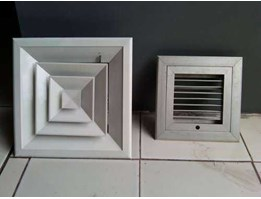 Jual Supply Air Diffuser ( SAD) Aluminium