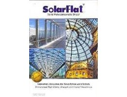 Jual Atap Polycarbonate Solar Flat Clear - Colour - Plain - Embosed