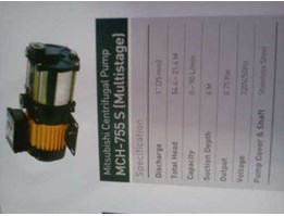 Jual Mitsubishi Centrifugal pumps