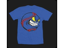 Jual Kaos Distro Smile Baseball