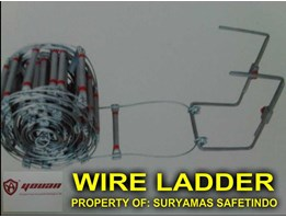 TANGGA KAWAT SLING/ WIRE LADDER