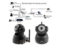 WIRESS IP CAMERA