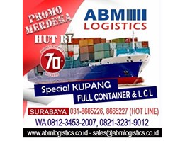 Jual ABM Mover Surabaya Kami melayani Jasa Kirim Barang Pindahan Rumah Kantor Pabrik Mobil Motor, dll. Transportasi Darat-Laut-Udara. Layanan Door to Door. 8665227, 082132319012, 081234532007, 081235795793. cs@ abmlogistics.co.id, sales@ abmlogistics.co.id