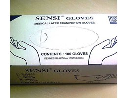 SENSI GLOVES MEDICAL LATEX