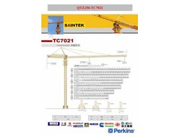 Jual Tower Crane