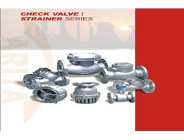 Check Valve and Strainer Series