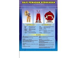 Jual BAJU PEMADAM KEBAKARAN ( FIRE FIGHTER SUIT NOMEX IIIA 4, 5 Oz dan 6.0 Oz, FLAME RETARDANT ( FR ), COTTON 100% ), Hubungi : 082110255345, 021-99061876 Email : supplier.javageneral@gmail.com