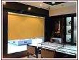 Jual Roller blinds semi black out - Unique Carpet & Deco Bali