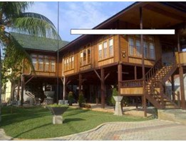 Jual wooden house