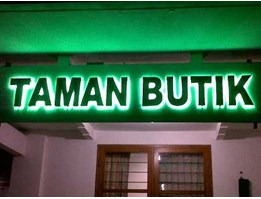 Jual NEON SIGN LED BOX
