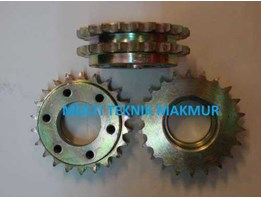 Jual Gear eskalator double Z 22