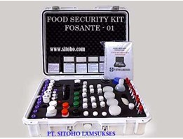 FOOD SECURITY KIT SAFE-01, ALAT UJI KONTAMINASI PADA MAKANAN & MINUMAN