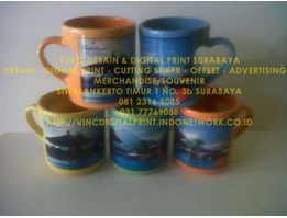 Jual MUG HATI FULL COLOUR WARNA