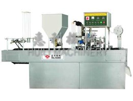 Jual Automatic Cup Filling and Sealing Machine - Mekanik 4 Line