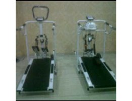 TREADMILL MANUAL 6 FUNGSI