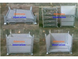 Cart Pallet Mesh Folding CAP04MF
